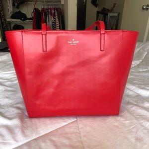 Kate Spade Tote Cherry Red